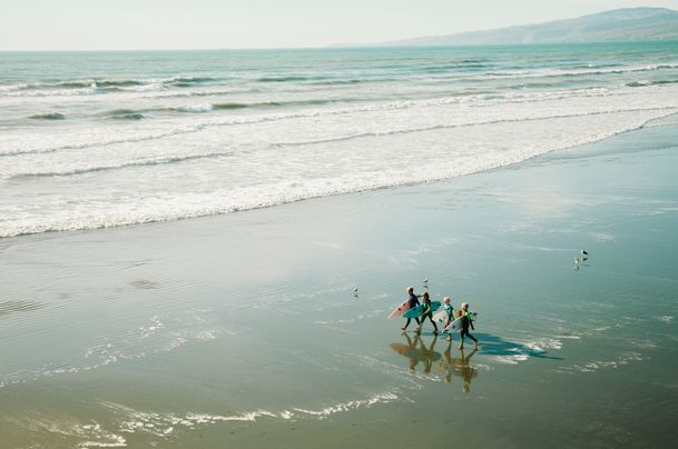 Best and suggested location to stay in Bali for beginner surfers