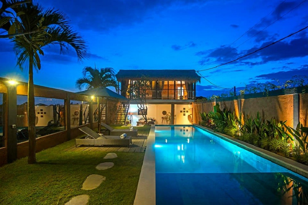 Seminyak villas with a private pool