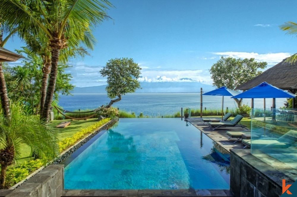 Look out at paradise from your own infinity pool - Bali Villas